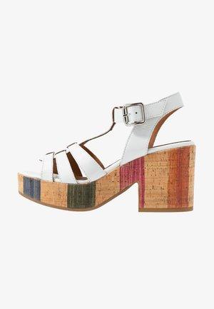 BAHAMAS - Sandály na vysokém podpatku - blanco