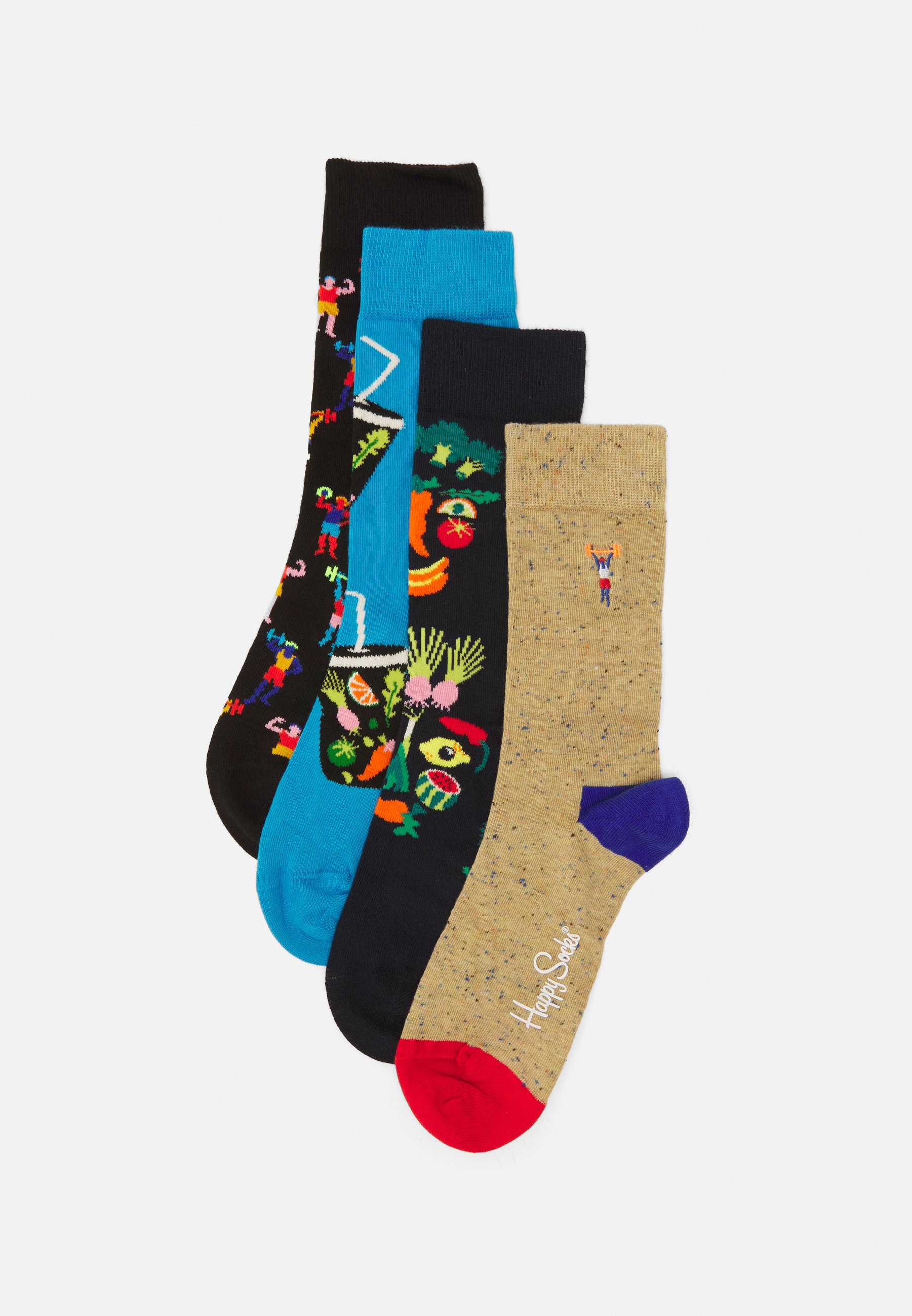 Femme HEALTHY LIFESTYLE 4 PACK UNISEX - Chaussettes