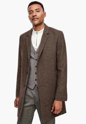 IM CLASSIC SHAPE - Short coat - brown melange