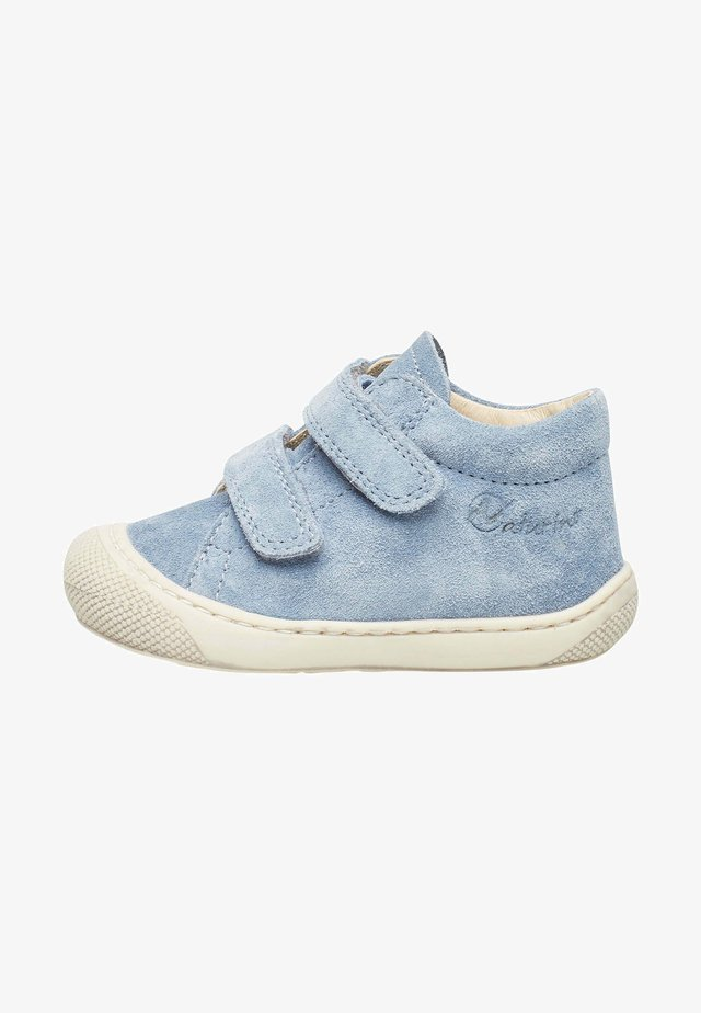 Baby shoes - azurblau