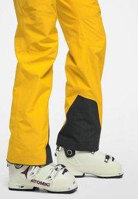 Haglöfs - LUMI FORM PANT - Snow pants - pumpkin yellow - 3