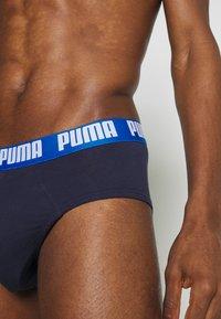 Puma - BASIC BRIEF 2 PACK - Briefs - true blue - 4