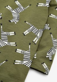 Next - ZEBRA PRINTED - Long sleeved top - green - 2