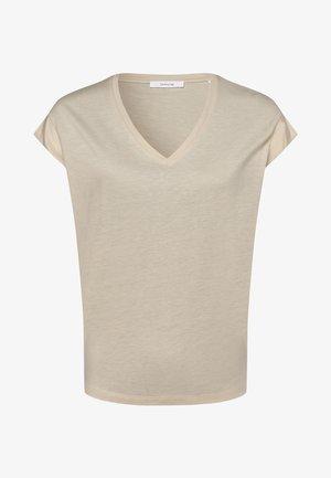 SALTOBO - Basic T-shirt - beige