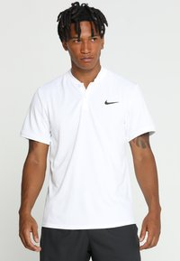 Nike Performance - DRY BLADE - Print T-shirt - white/black - 0