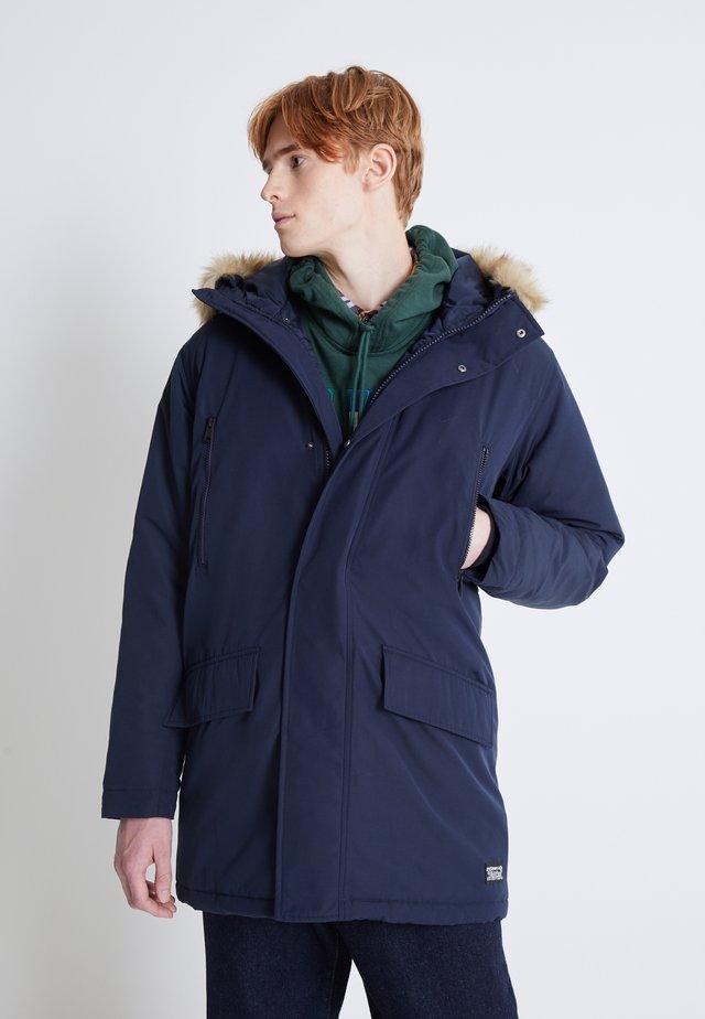 WOODSIDE LONG UTILITY  - Winter coat - nightwatch blue