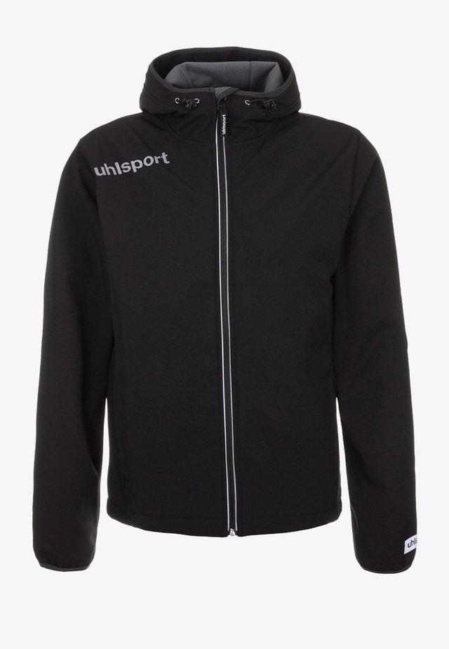 ESSENTIAL  - Soft shell jacket - black