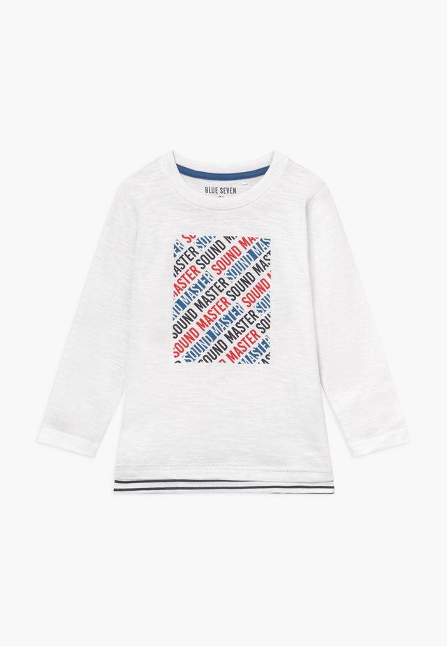 KIDS SOUND MASTER - Long sleeved top - white