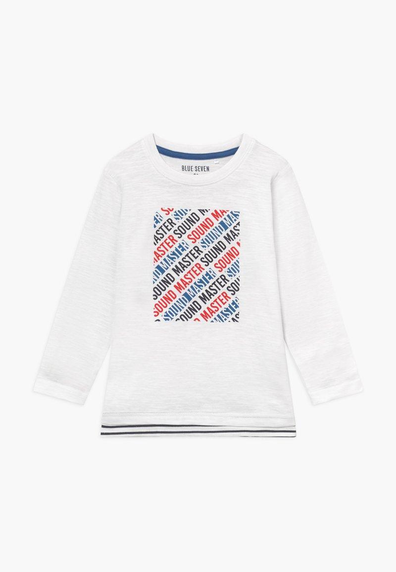 Blue Seven - KIDS SOUND MASTER - Long sleeved top - white