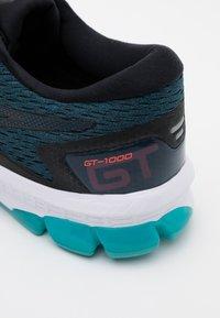 ASICS - GT-1000 9 - Stabilty running shoes - magnetic blue/black - 5