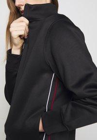 Polo Ralph Lauren - TRACK - Felpa con zip - black - 5