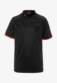 adidas Performance - DFB DEUTSCHLAND A JSY Y - Club wear - black - 0