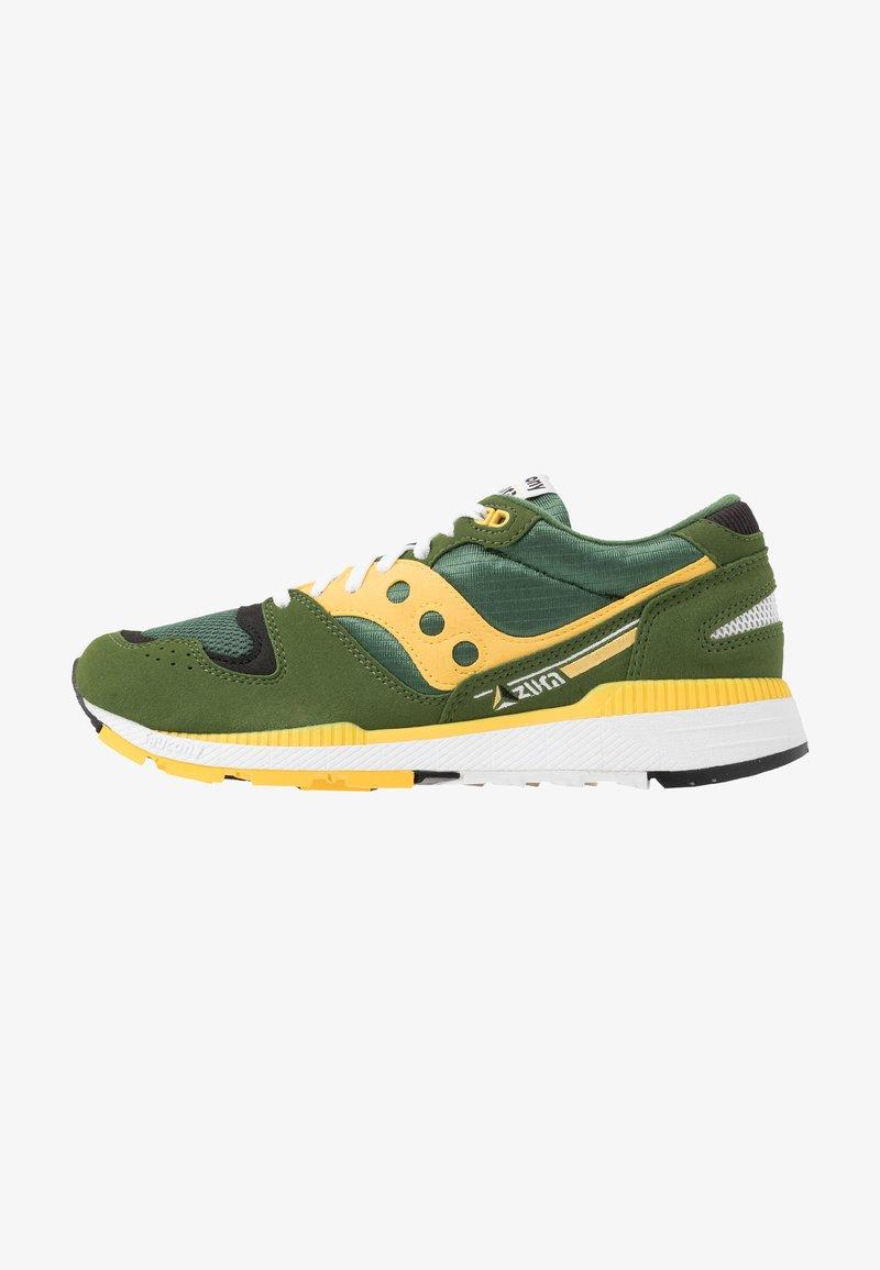 Saucony - AZURA - Sneaker low - green/yellow