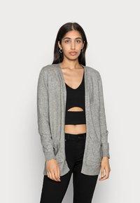 ONLY - ONLLESLY L/S  NOOS - Cardigan - medium grey melange - 0