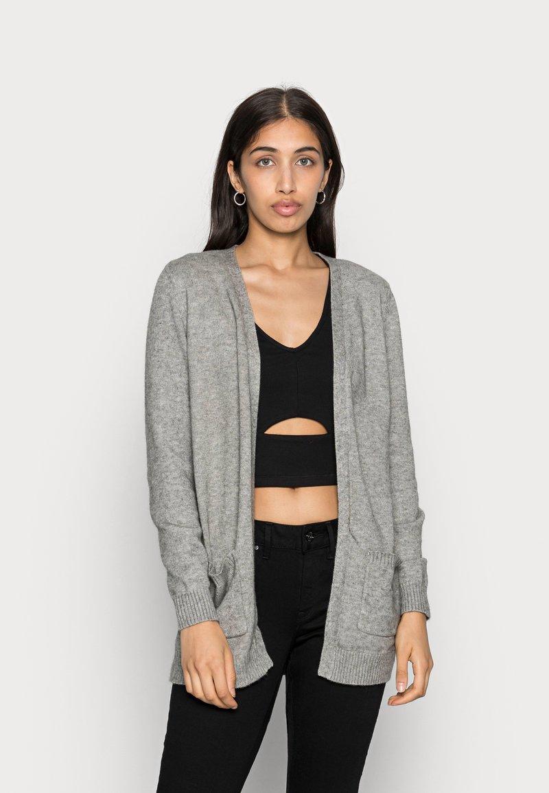 ONLY - ONLLESLY L/S  NOOS - Cardigan - medium grey melange