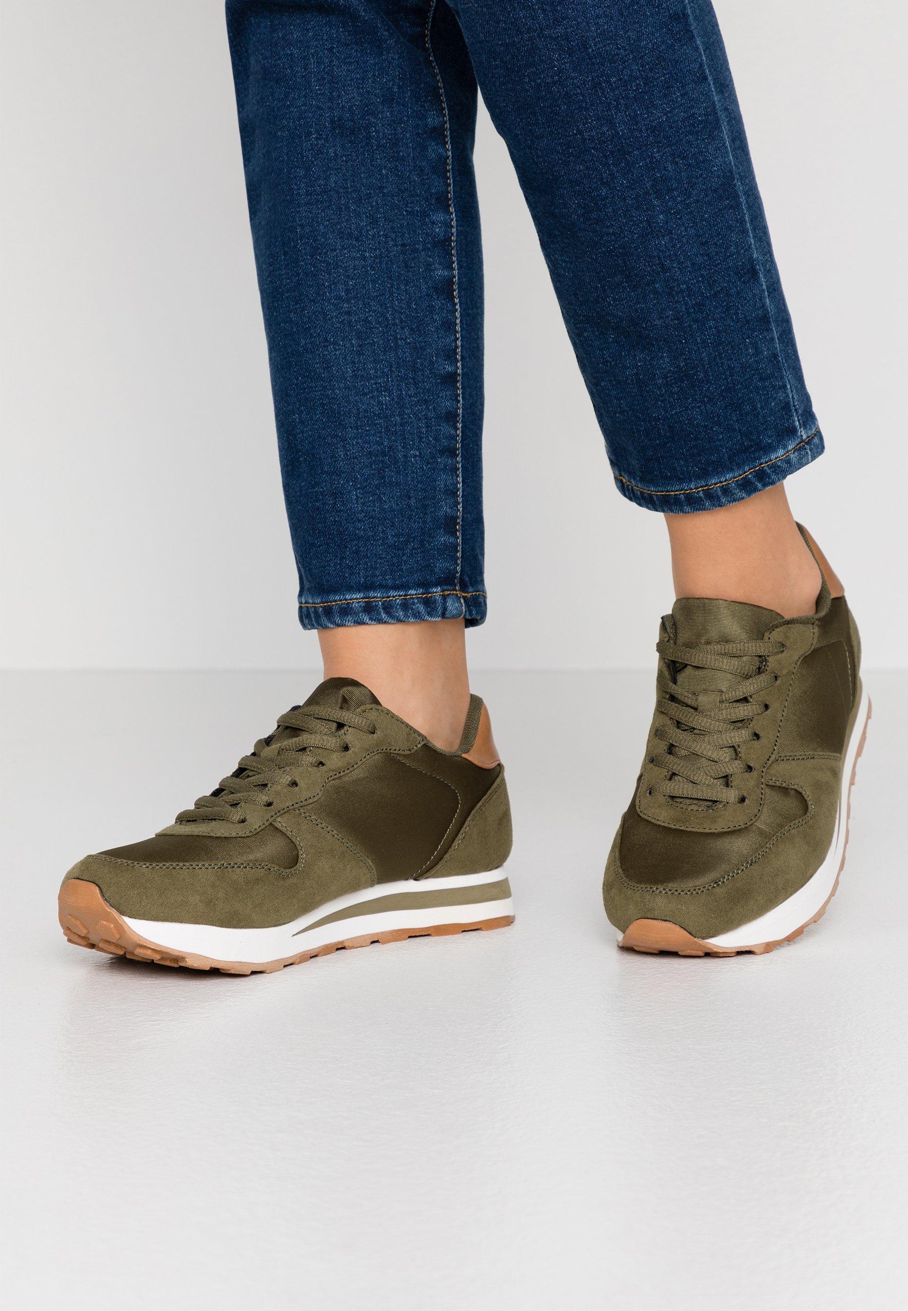 Olivengrønne Ankelstøvletter | Sko til Dame | Sko og