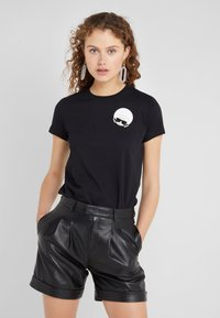 KARL LAGERFELD - IKONIK  - Print T-shirt - black - 0