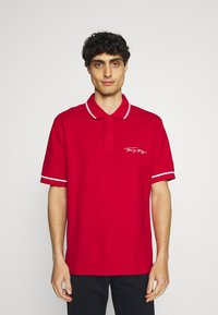 Tommy Hilfiger - SIGNATURE CASUAL - Polo shirt - primary red - 0