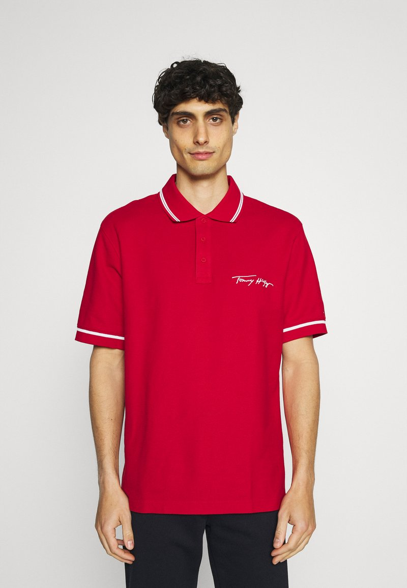 Tommy Hilfiger - SIGNATURE CASUAL - Polo shirt - primary red