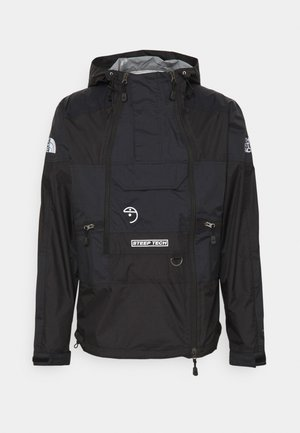 STEEP TECH LIGHT RAIN JACKET - Regnjacka - black