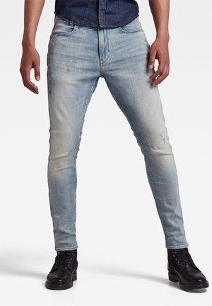 VINTAGE NASSAU DESTROYED - Jeans slim fit - vintage nassau destroyed