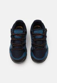 Jack Wolfskin - MTN ATTACK 3 TEXAPORE LOW UNISEX - Hiking shoes - dark blue/orange - 3