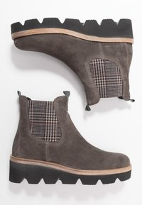 Gabor - Wedge Ankle Boots - wallaby - 3