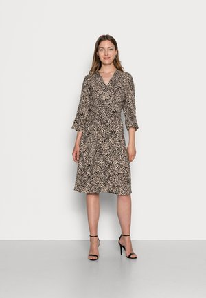 KEINA - Day dress - cement leo