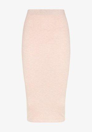 Pencil skirt - nude