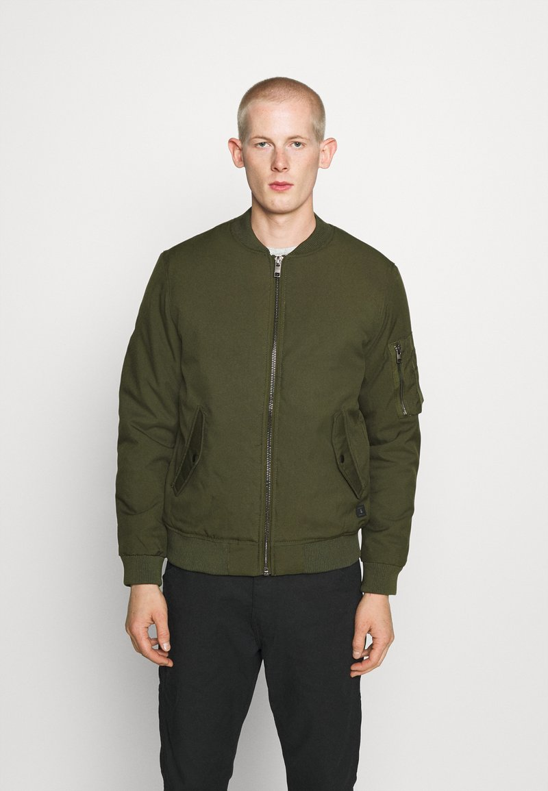 Jack & Jones - JJBILL JACKET - Bomber Jacket - forest night