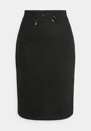 RASCHJA - Pouzdrová sukně - black