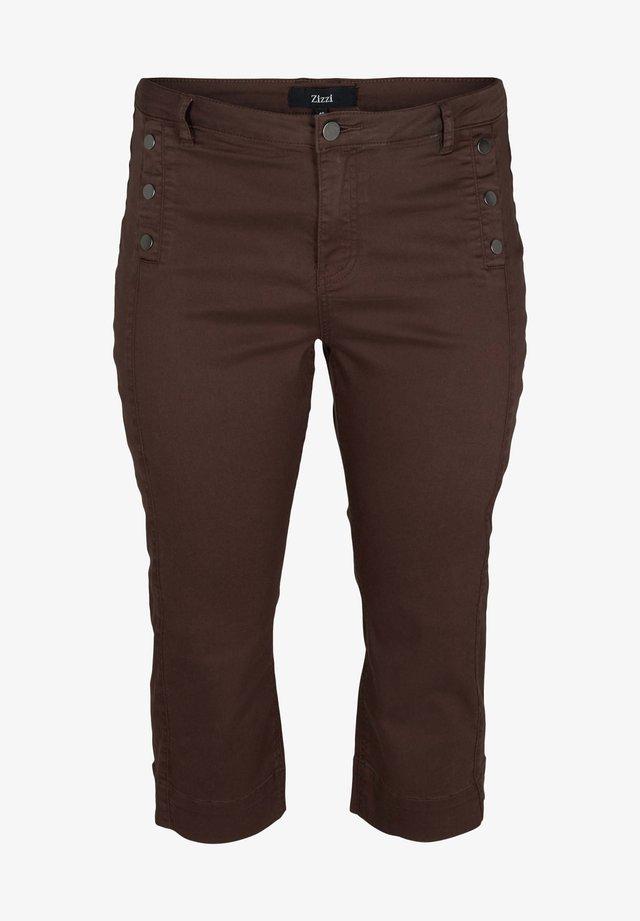 Shorts di jeans - dark brown