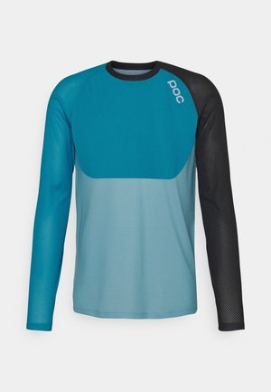 PURE  - Long sleeved top - uranium black/basalt blue