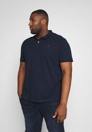 BASIC WITH CONTRAST - Polo shirt - sky captain blue