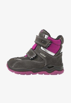 Winter boots - grig/magenta