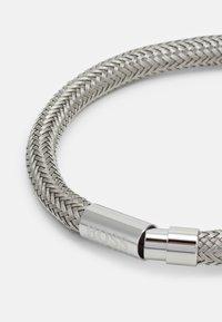 BOSS - ROPE - Náramek - silver-coloured - 1
