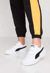 Puma - CALI - Trainers - white/black - 0
