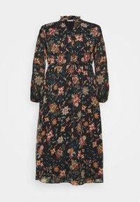 ONLY Carmakoma - CARKRITI DRESS - Day dress - blue graphite - 0