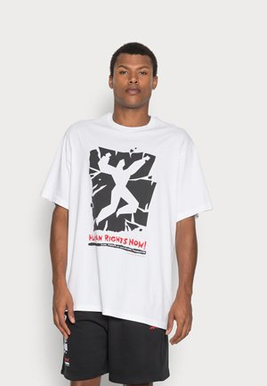 HUMAN RIGHTS NOW GRAPHIC - T-shirt print - white