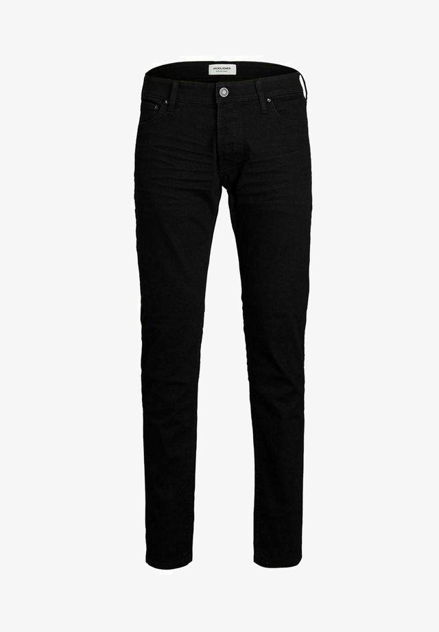 GLENN - Slim fit -farkut - black denim