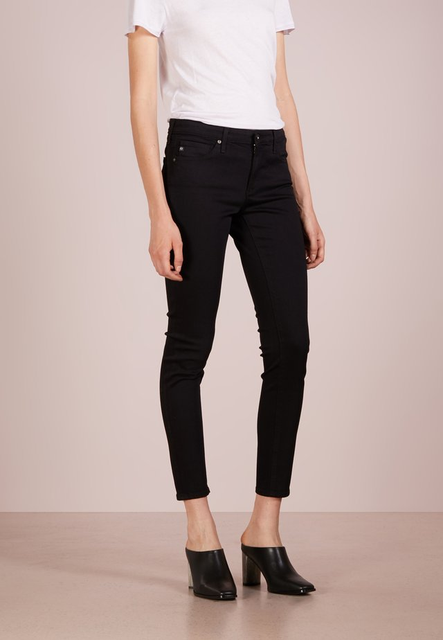 LEGGING ANKLE - Skinny-Farkut - black denim