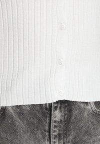 Monki - SILJA CARDIGAN - Kardigan - white - 6