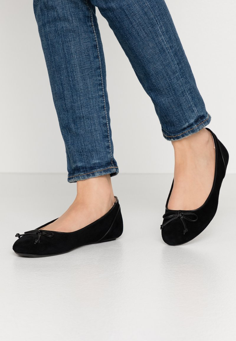 Esprit - ALYA LEA BOW - Ballet pumps - black
