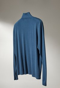 Massimo Dutti - Long sleeved top - blue - 3