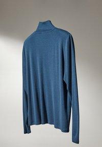 Massimo Dutti - Bluzka z długim rękawem - blue - 3