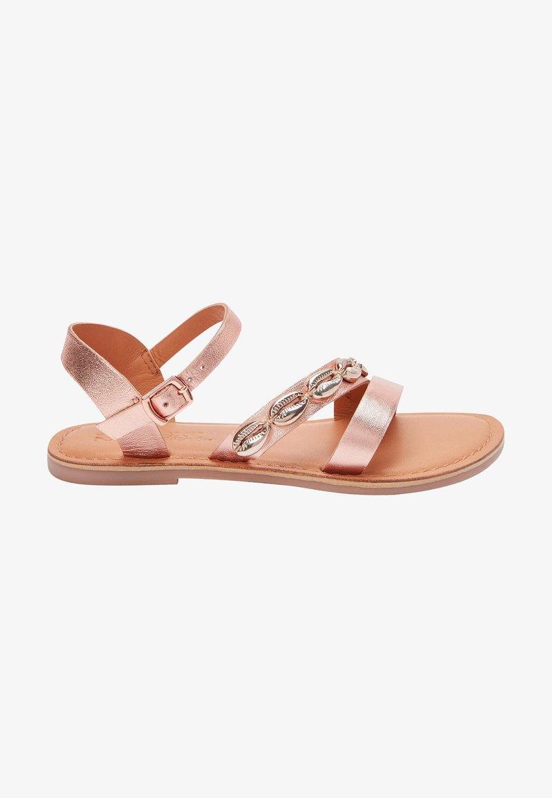 Next - Sandals - rose gold