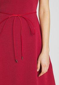 Bally - BELTED DRESS - Jumper dress - red - 7