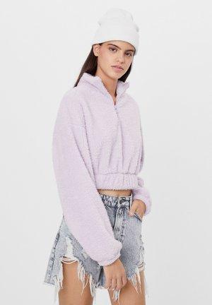 Fleece jumper - dark purple