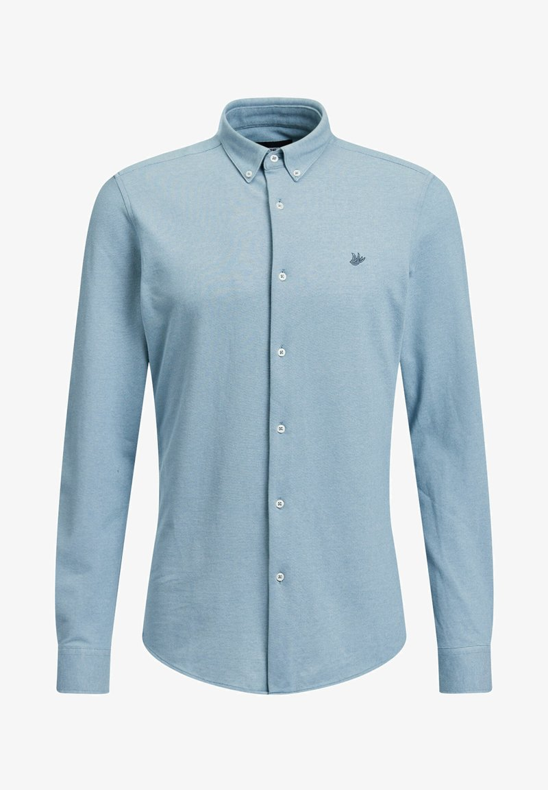 WE Fashion - SLIM FIT - Camicia - ice blue
