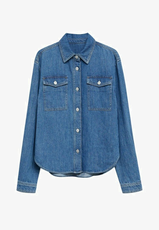 VEGA - Button-down blouse - medium blue